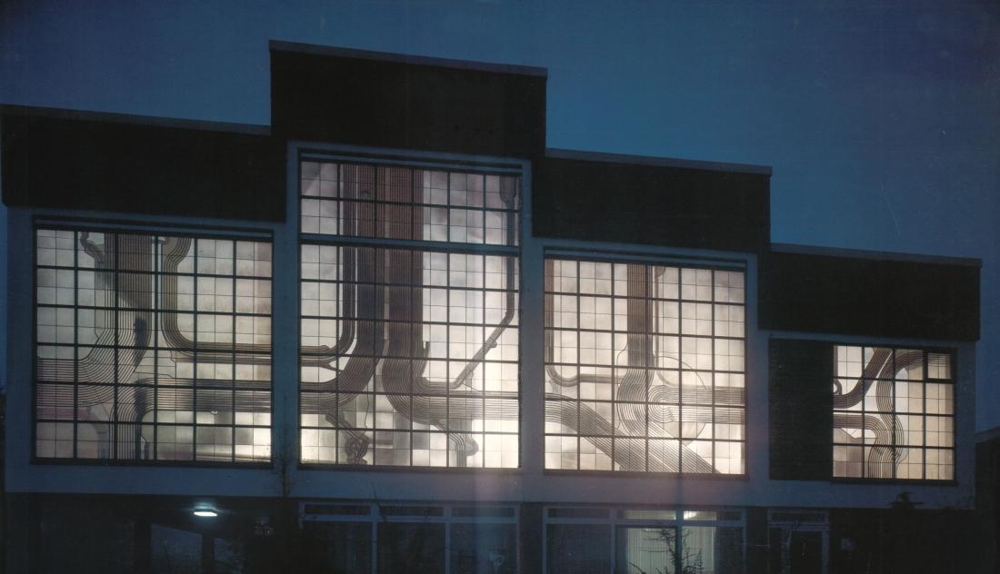 Robot Fenster Bad Zwischenahn : Werke in und an Gebäuden in Glas  Stein  Metall  Farbe (Auswahl)