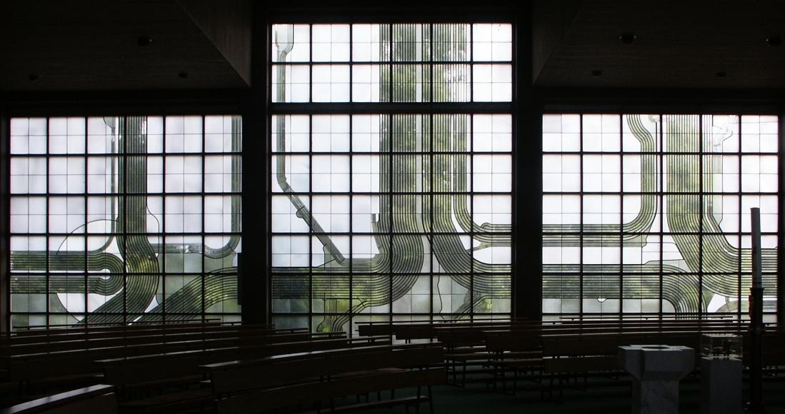 Bad Zwischenahn  St Marien  Gesamtverglasung[R